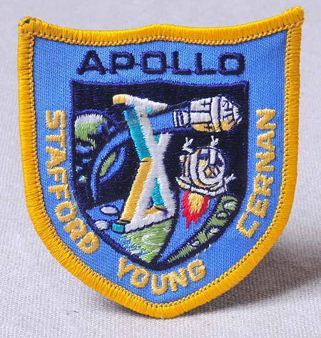Apollo 10 Badge front