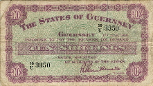 Guernsey note front