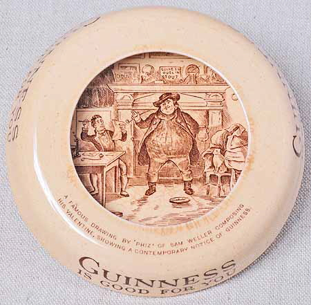 Guinness Ashtray Front