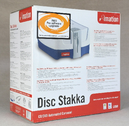 Disc Stakka box front